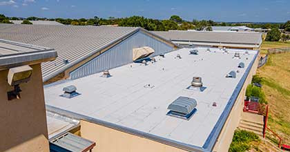 Flat Roof Commerical Cypress Roofing 1602096706