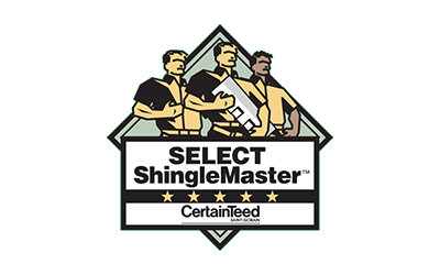 Select Shingle Master Logo